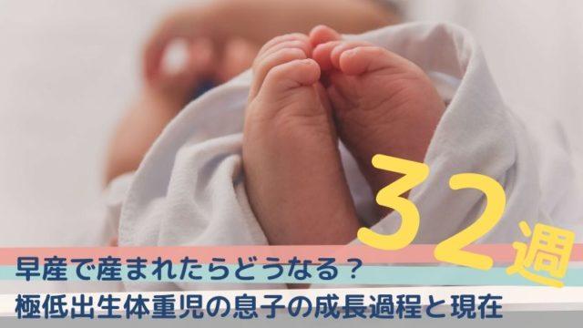 32週で出産【早産で産まれたらどうなる?低置胎盤だった私と極低出生体重児】