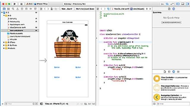 iPhoneアプリ開発コース