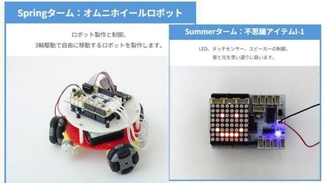 ロボティクスプロフェッサーコース 作品例